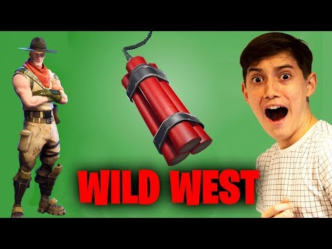 EPIC NEW WILD WEST GAME MODE! (Fortnite Pro Duos)