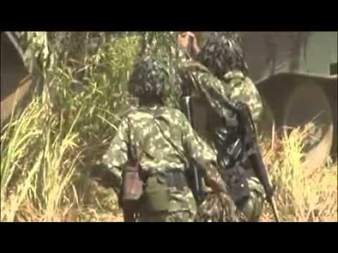 Demonstrasi Latihan tempur TNI AD TA 2015 Baturaja