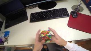 7x7 Rubik's Cube Solve: 2:15.41