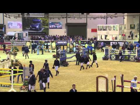 Showjumping -   Matthew Sampson - Scope 2014