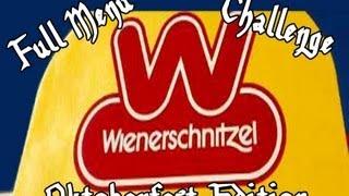 Wienerschnitzel Full Menu Challenge Pt. 1 - Oktoberfest Edition