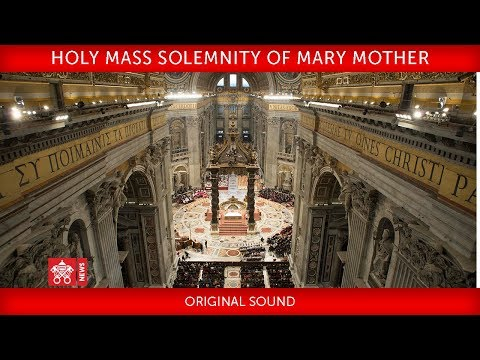 Pope Francis - Holy Mass for Consecrated persons 2018-02-02