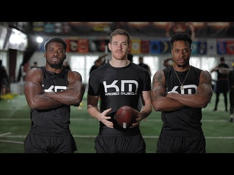 Why Football Players Choose Kaged Muscle Supplements