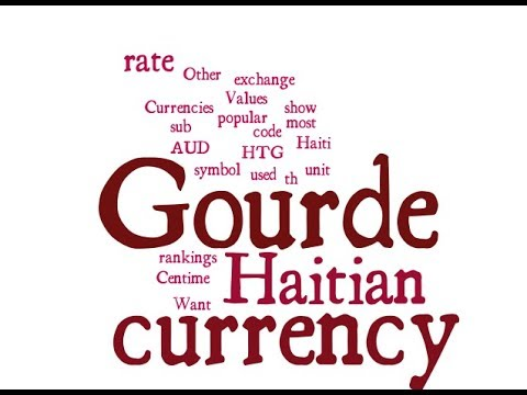 Haitian Currency - Gourde