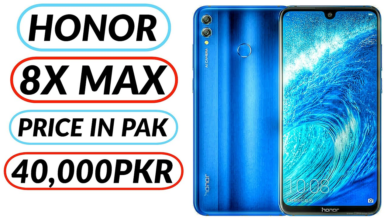 HONOR 8X MAX Price in PAKISTAN || Review!