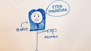 DRAW MY LIFE: EMBARAZADA A LOS 18
