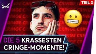 Die 5 KRASSESTEN Cringe-Momente auf YouTube! - Teil 3 | TOP 5
