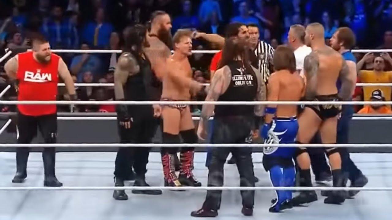 Download Team RAW vs team SMACK DOWN FULL MATCH