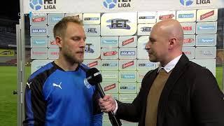 Daniel Kolář rozhovor (Sparta - Plzeň 0:1)