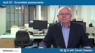90 seconds @ 9am : Scrambled assessments