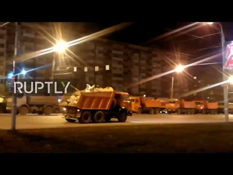 LIVE: Residential building collapse in Russia's Izhevsk