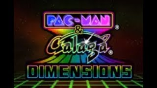 Pac-Man & Galaga Dimensions (3DS) Game: Pac-Man Tilt part 2 of 2