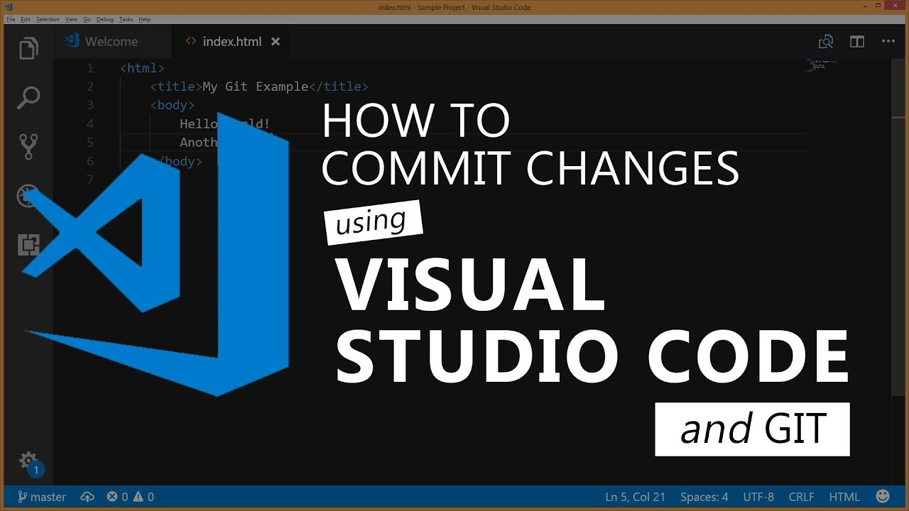 How to commit changes and push them in Visual Studio Code