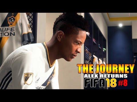 FIFA 18 THE JOURNEY #8 | LA GALAXY (ALEX HUNTER RETURNS PORTUGUÊS)