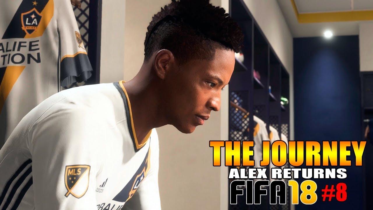 Fifa 18 The Journey 8 La Galaxy Alex Hunter Returns Português
