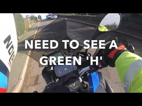 BMW Hill Start Assist on a BMW R1250 GS LC TE