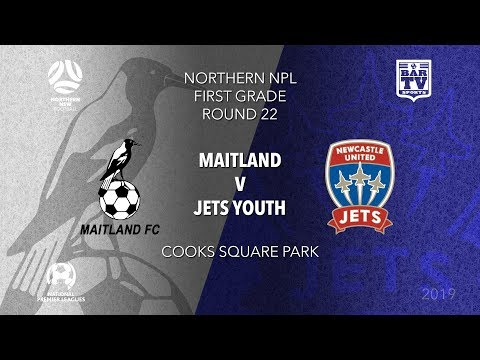 2019 NPL Northern NSW U20's and 1st Grade - Round 22 - Maitland Magpies v Newcastle Jets Youth