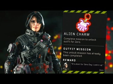 Blackout: How to UNLOCK Zero! (Alien Charm Location)