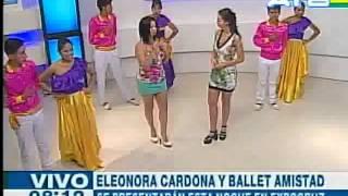 eleonora cardona canta santa cruz de amor atb 24 09 15