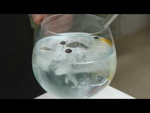 The London No1 diseña unas copas con las ondas sonoras del gin&tonic