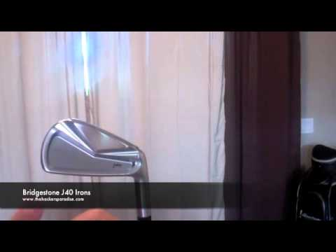 Bridgestone J40 Irons - YT