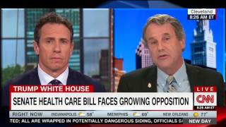 "CNN's Chris Cuomo Corrects  Sen Brown (D-OH) Over Obamacare: ""You Had Problems Before Trump"""