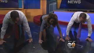 KCAL Anchors Take On Push-Up Challenge To Honor Veterans