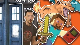 Looter News: Pokemon Minecraft Gameception, Doctor Who Spin Off