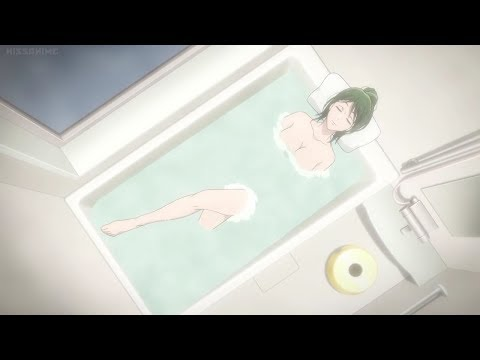 Hana-chan Taking A Bath!!! - Wotaku ni Koi wa Muzukashii Episode 7