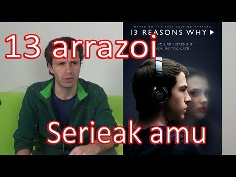 13 arrazoi (13 reasons why). Serieak amu - Fernando Morillo Grande (Sorginetxe istorioak)