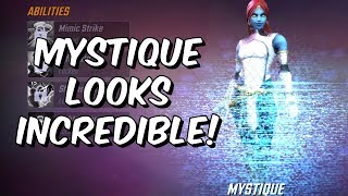 Mystique Early Abilities Overview! - Potential God? - Marvel Strike Force
