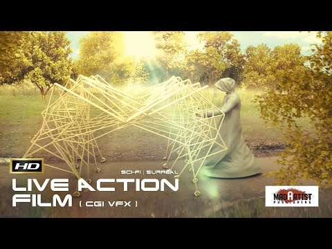 """Live Action CGI VFX Animated Short """"THE FUTURE FORMS OF LIFE"""" Surreal Sci-Fi Film by David Lance"""