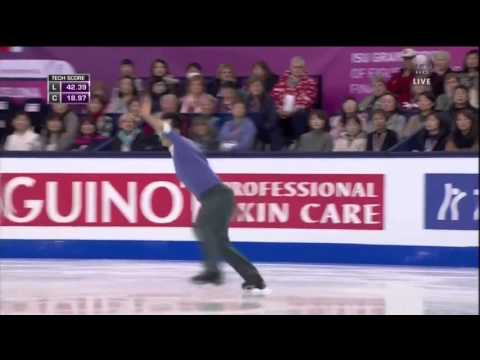 2015 GPF   Men   SP   Patrick Chan   Mack the Knife by Michael Buble