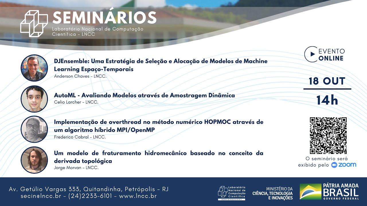 Download 18/10/2021 - Seminário LNCC - Anderson Chaves, Gabrielli Dutra e Viviane Matioli (LNCC/MCTI)