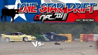 ADAM LZ BEAT ME! Day 2 LoneStar Drift ProAm drift Competition