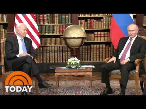 President Biden And Vladimir Putin Meet For Summit In Geneva