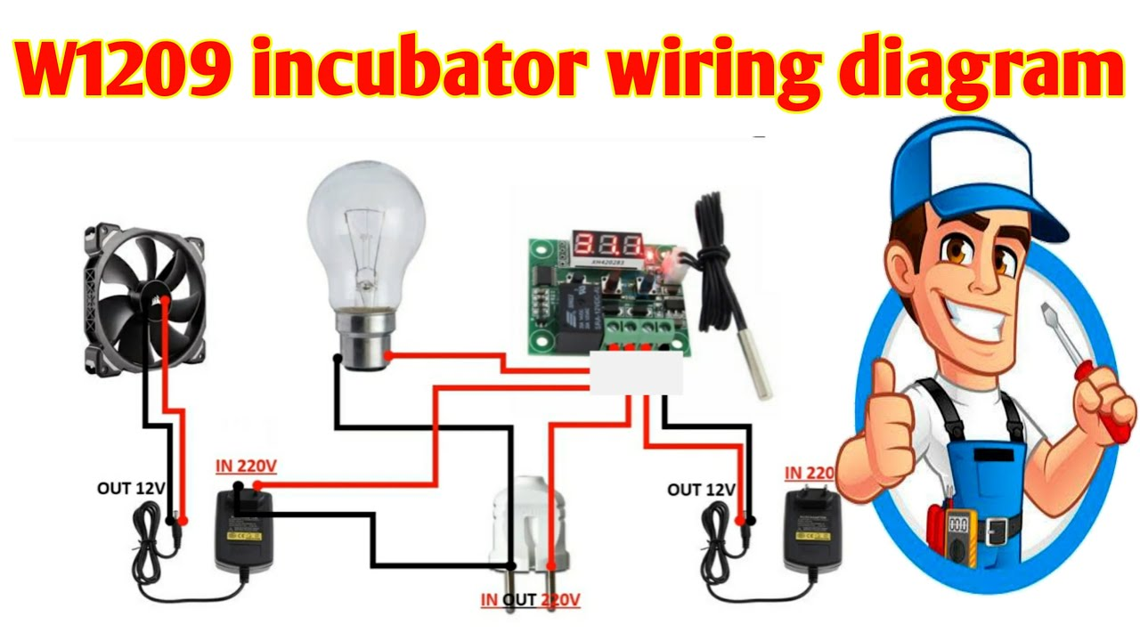 W1209 Incubator Wiring Diagram