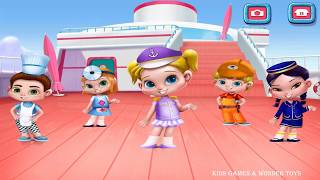 Cruise Kids - Ride the Waves | luxurious cruise ship | cruise ship adventure | coloring pages HD #3