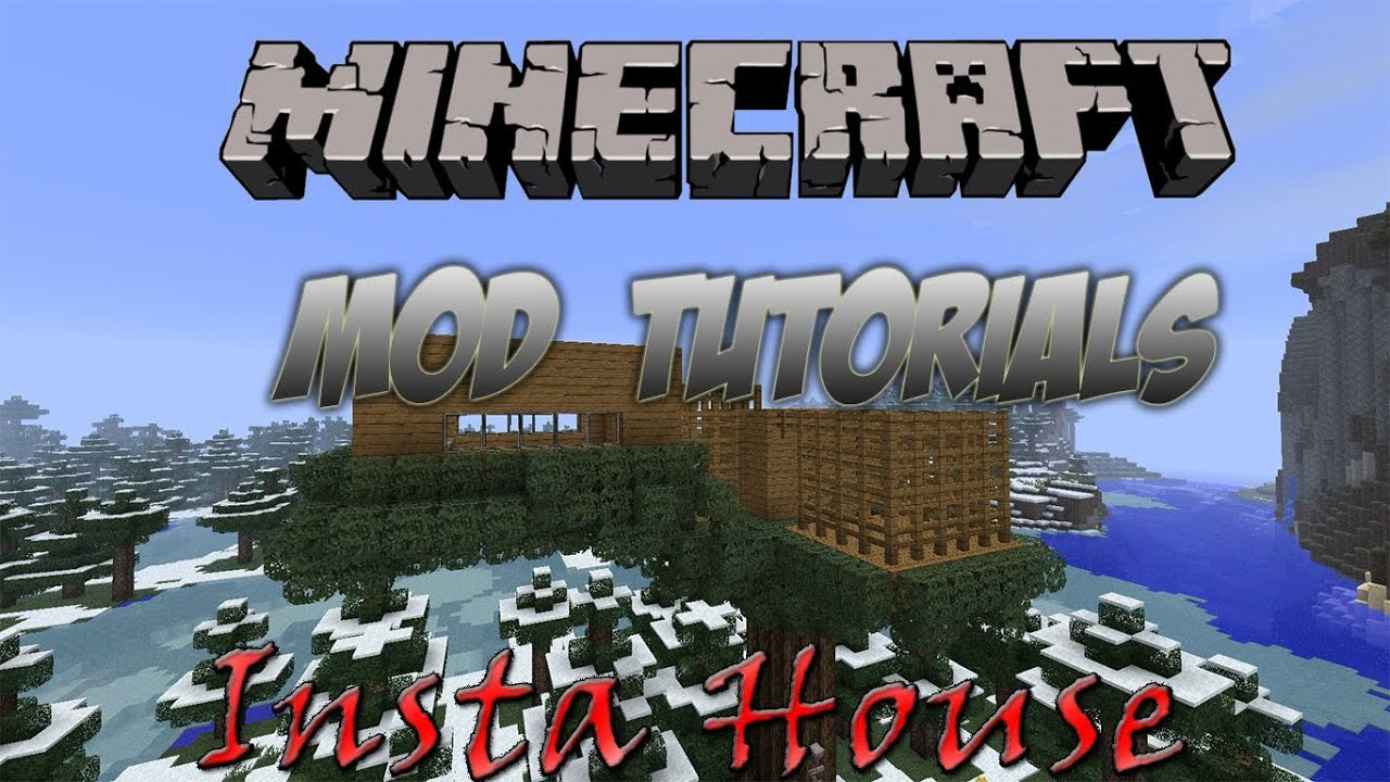 minecraft instant house mod 1.6 4 download