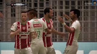 Fifa 18 Necaxa vs Monterrey (jornada 8)