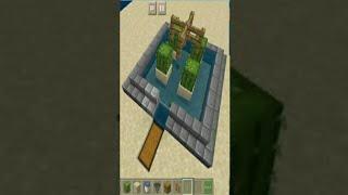 Cactus Farm In Minecraft || #shorts