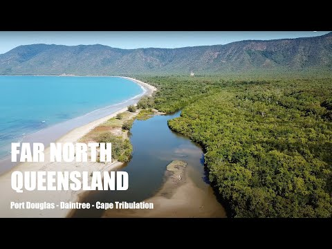 Tropical Queensland, Australia, DJI Mavic Pro 4K