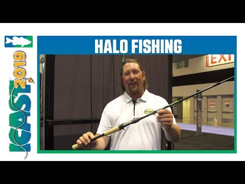 New Halo Fishing Kryptonite Series Rod Cosmetics With JT Kenny | ICast 2019