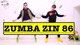 Zumba Zin 86 | J Balvin - Amarillo | Vishal Choreography | Zumba At Home | Zin 86 Zumba | Easy Step