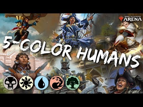 Download Multicolored Humans Mtg Arena Mardu Human Tribal Deck In