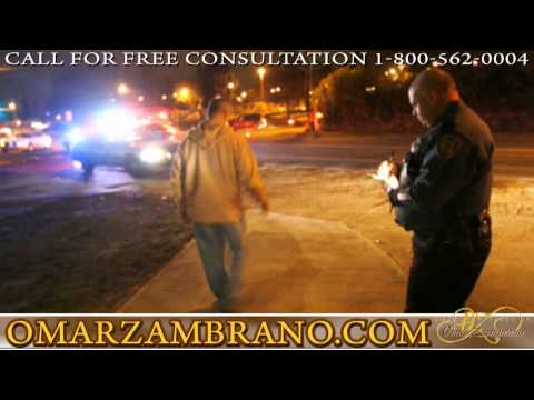 Oceanside  San Diego Co. - Sobriety Tests