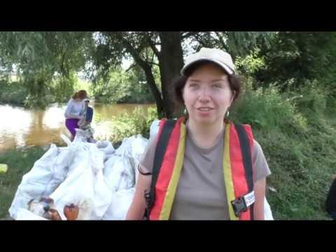 UA: ВОЛИНЬ: 40 мішків сміття зібрали учасники еко-сплаву річкою Стир
