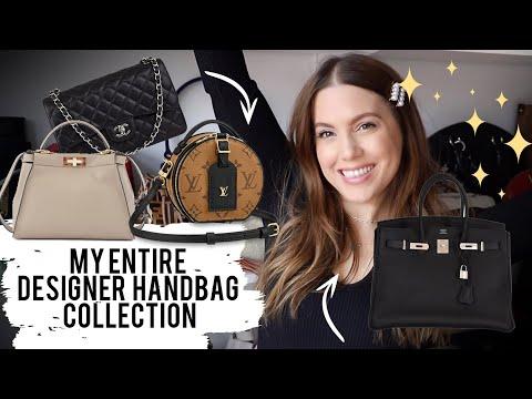 MY ENTIRE DESIGNER HANDBAG COLLECTION VIDEO (40+ HANDBAGS!!!) | MELSOLDERA