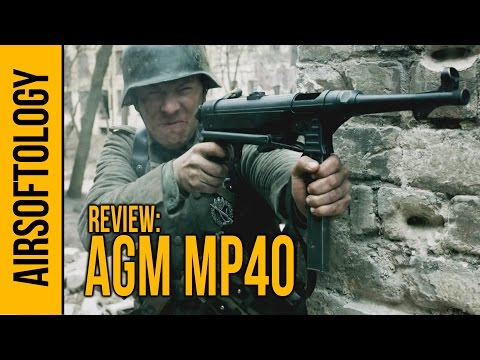 The AGM MP40 Airsoft Gun - A Blast from the Past    Airsoftology Review