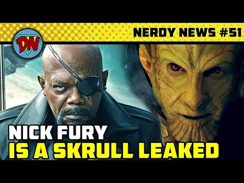 Drax in DC, Nick Fury is Skrull, Captain Marvel Box Office, Stan Lee in End Game | Nerdy News #51